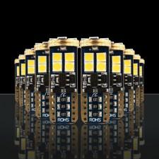 STEDI - 10 PIECE T10 W5W WEDGE LED LIGHT 28MM