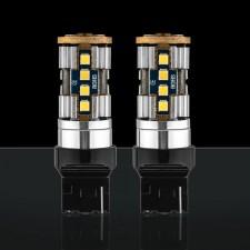 STEDI - 2 PACK T20 7440 W21W WEDGE LED LIGHT SINGLE FILAMENT