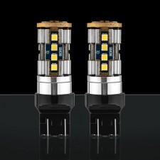 STEDI - 2 PACK T20 7443 W21/5W WEDGE LED LIGHT DUAL FILAMENT PARKER