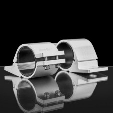 STEDI - 48MM TO 53MM TUBE CLAMP BULL BAR MOUNTING BRACKETS | SILVER