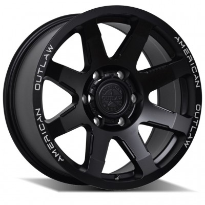 American Outlaw Legacy 17x8.5 6x114 +18 offset