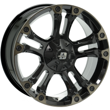 Diesel Brooklyn Gloss Black Tint 18x9 6x139 +25