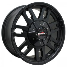 Dynamic PYTHON Black 17x8 5x150 +40 1400kg load
