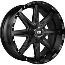 KING BLADE MATT BLACK 17X9 6X139 +25