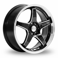 Lenso D1-RS Black Polished Rim