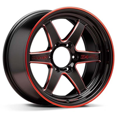 Lenso Project-D - D1R Red Rim