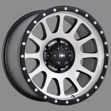 Spyder Caliber machined 18x9 5x150 +26 offset