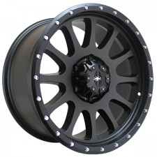 Spyder Caliber Black 18x9 5x150 +26 offset