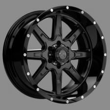 TUFF T-15 Black17x9 6x139 +10