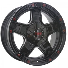 Tuff T-10 Black Milled 17x9 10H 5x120/127 +30